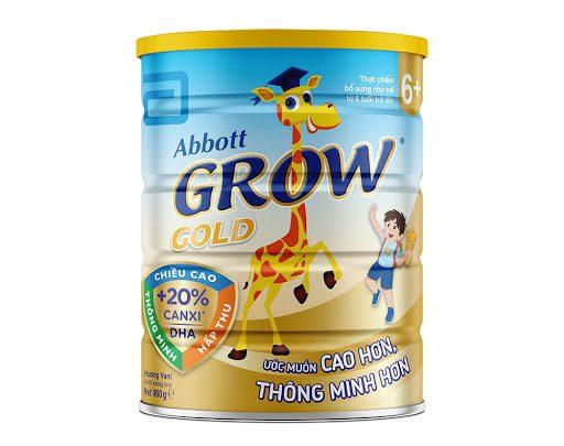 Sữa Bột Abbott Grow Gold 6+ 900g