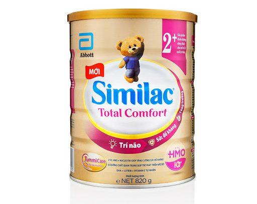 Sữa Bột Similac Total Comfort 2+ (HMO) 820g
