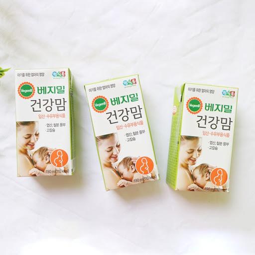 Sữa hạt VEGEMIL dành cho mẹ bầu và cho con bú 190ml_2