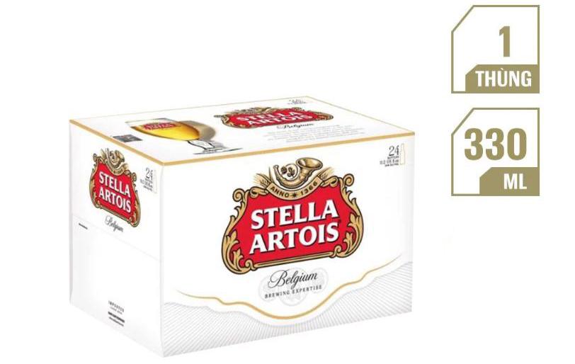 Thùng 24 Chai Bia Stella Artois (330ml/chai)