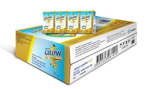 Thùng 36 Chai Sữa Nước Abbott Grow Gold 110ml