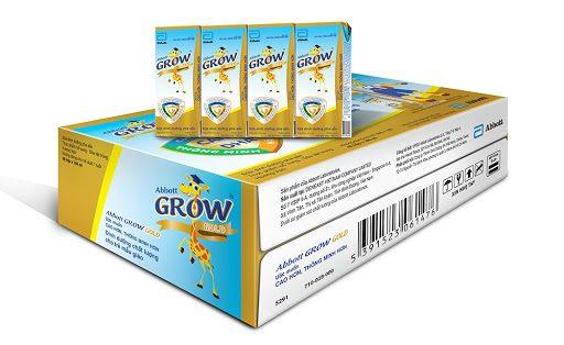 Thùng 48 Chai Sữa Nước Abbott Grow Gold 180ml