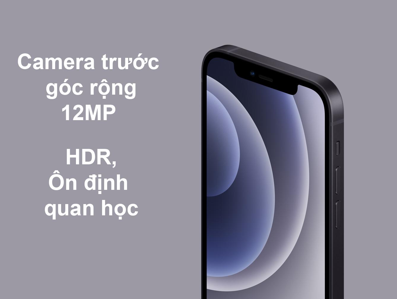 iPhone 12 Mini 128 GB | Camera trước góc rộng