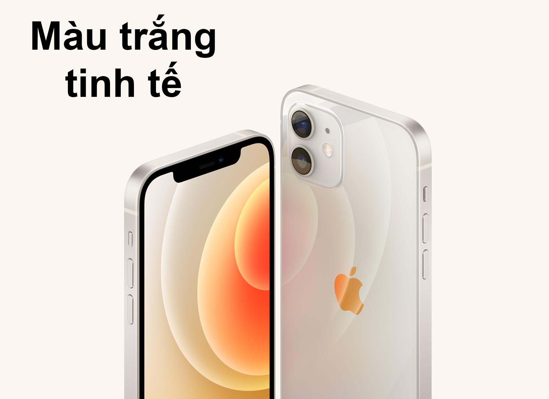 iPhone 12 Mini 128 GB | Màu trắng tinh tế