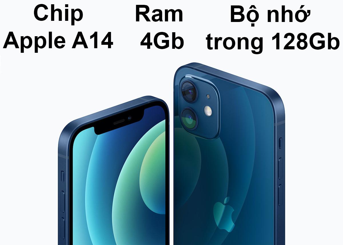 iPhone 12 Mini 128 GB | Hiệu năng mạnh mẽ