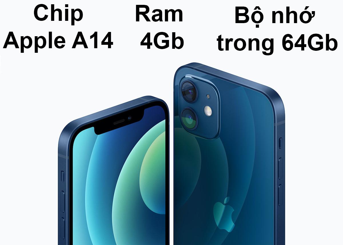 iPhone 12 Mini 64 GB | Hiệu năng mạnh mẽ