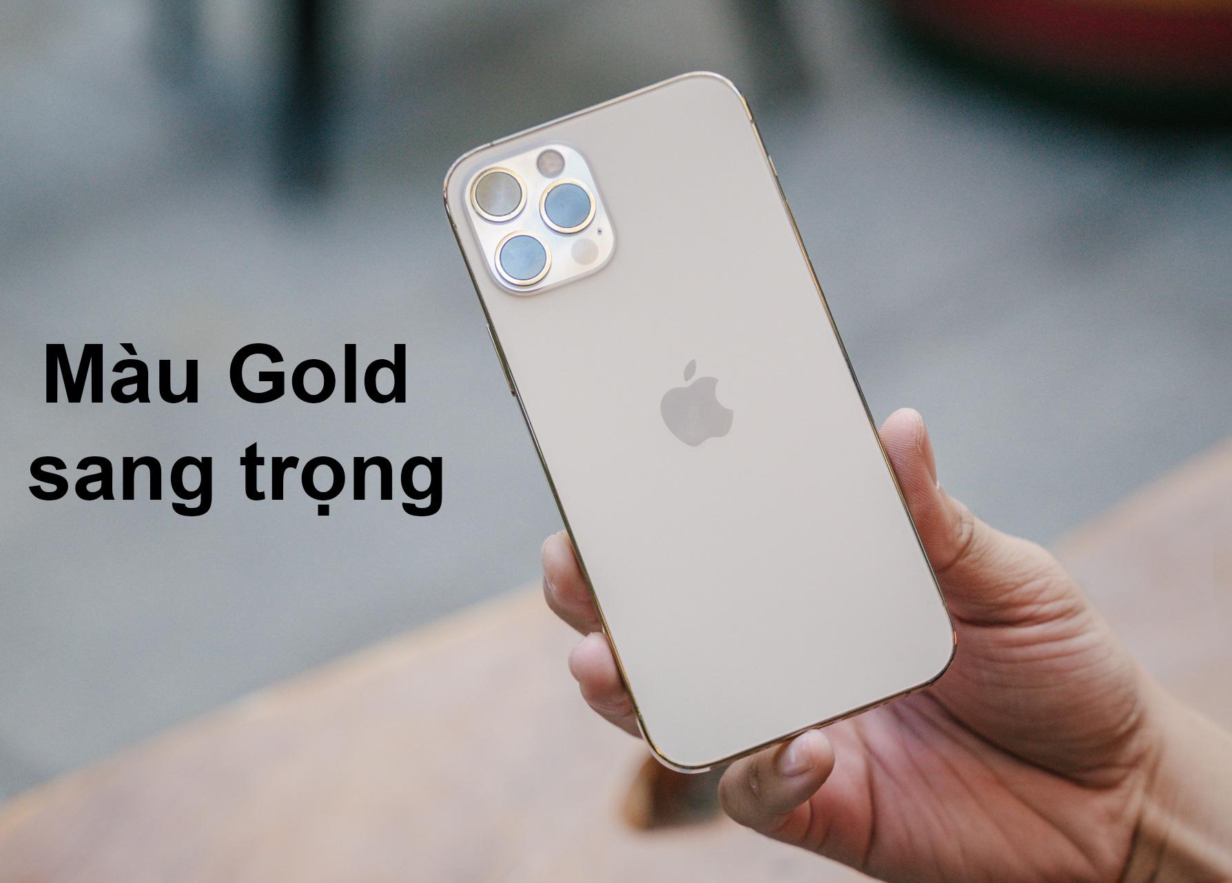 iPhone 12 Pro 128 GB   Màu Gold sang trọng
