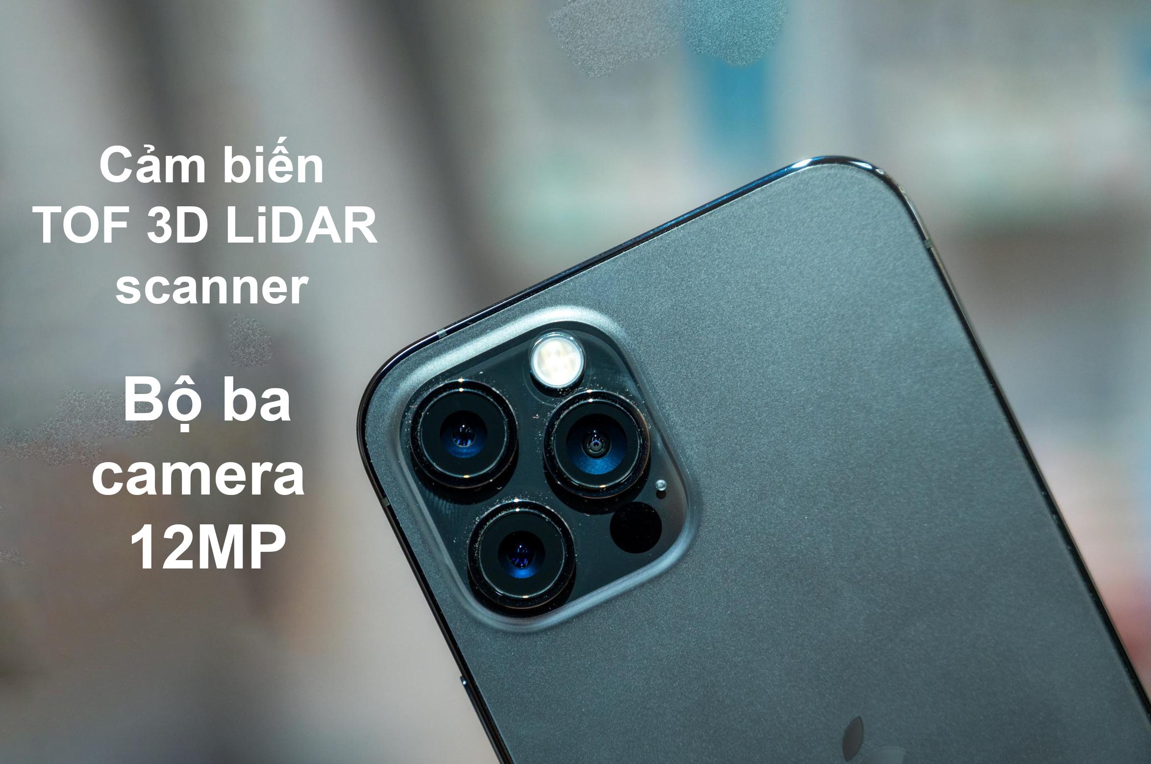 iPhone 12 Pro Max 128 GB | Bộ ba camera sắc nét