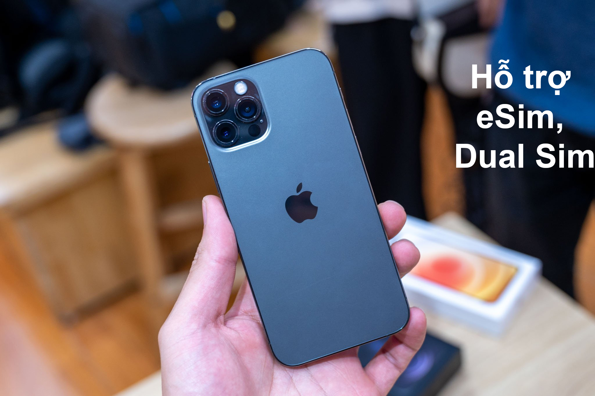 iPhone 12 Pro Max 128 GB | Hỗ trợ eSim