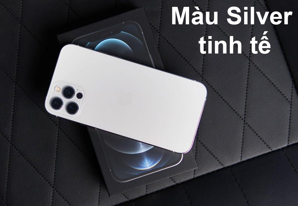 iPhone 12 Pro Max 256 GB   Màu Graphite nổi bật