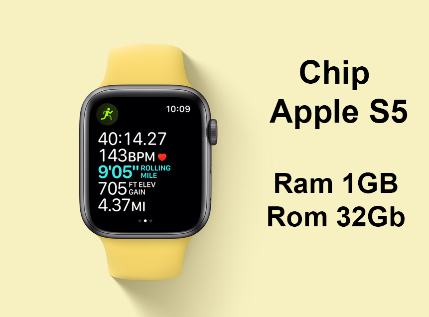 Apple Watch Series SE GPS + 4G 44mm | Chip Apple S5