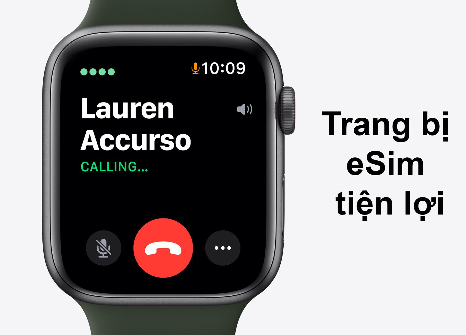 Apple Watch Series SE GPS + 4G 44mm | Trang bị eSim tiện lợi