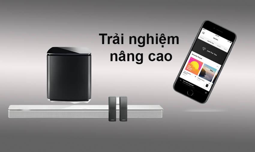 Loa-Bose-SoundBar-700-Trang