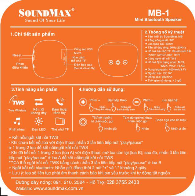 Loa-bluetooth-Soundmax-MB-1-Cam