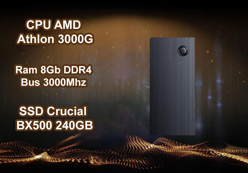 Máy tính để bàn Phong Vũ PVP Office 3000G| Hiệu năng mạnh mẽ