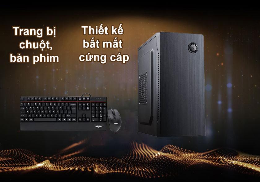 Máy tính để bàn Phong Vũ PVP Office 3000G| Tặng kèm bàn phím + Chuột