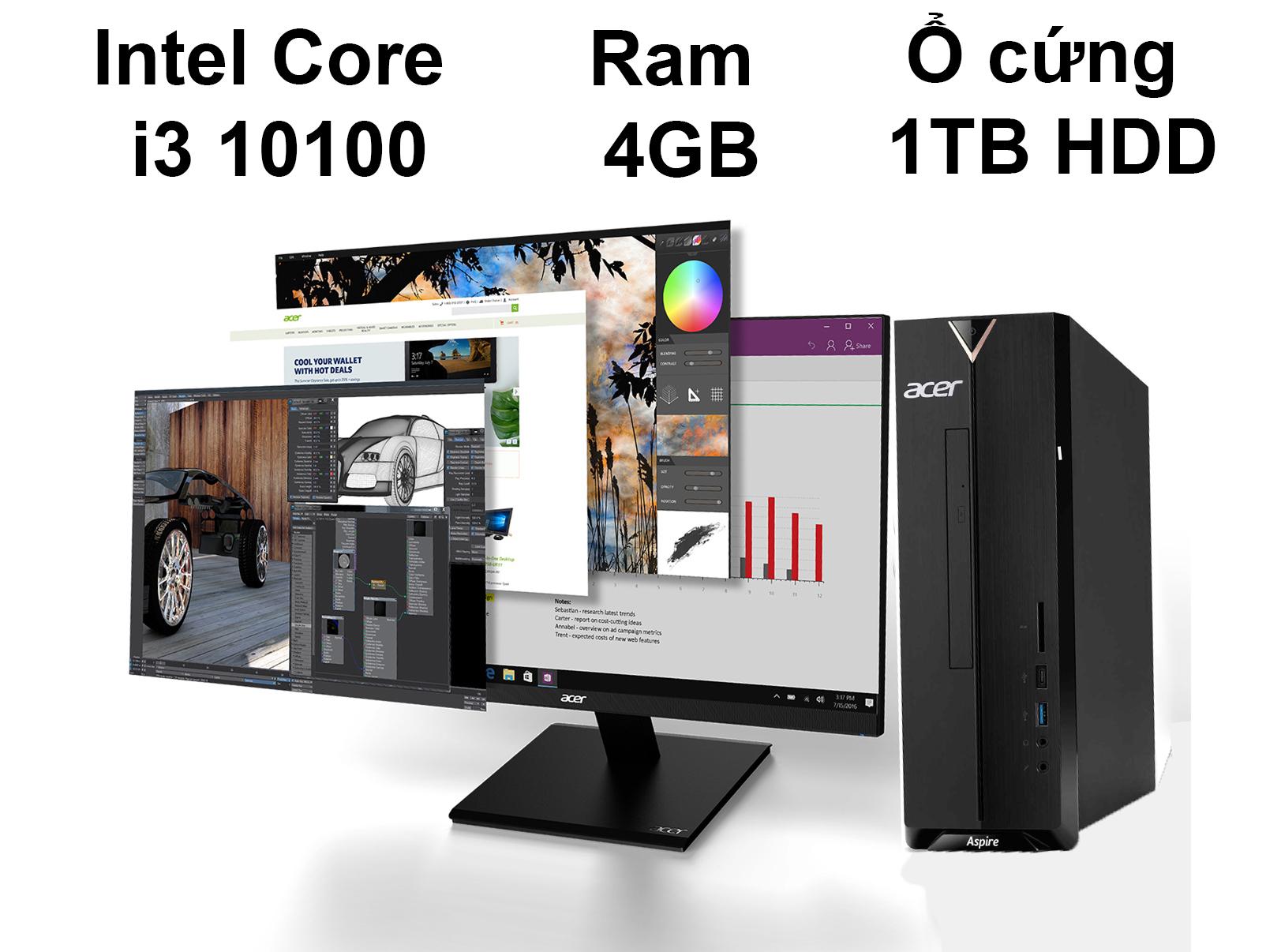 PC Acer AS XC-895 | Hiệu năng mạnh mẽ