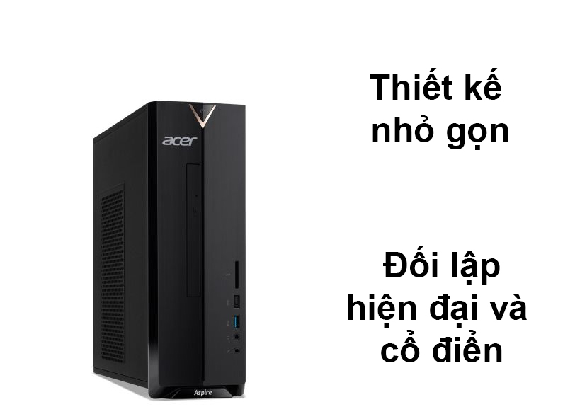 PC Acer AS XC-895 | Thiết kế nhỏ gọn