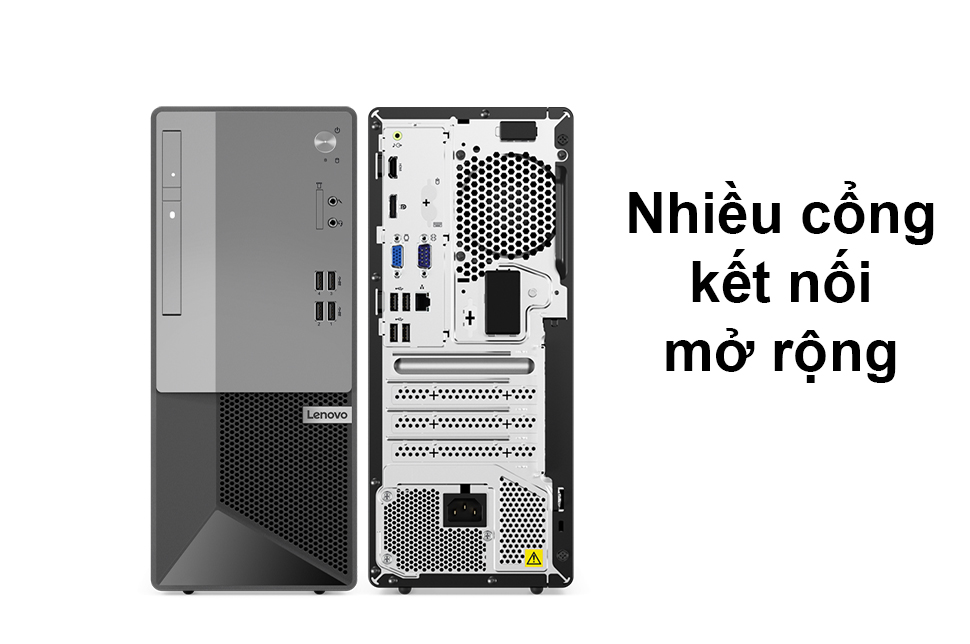 PC Lenovo V50t 13IMB | Nhiều cổng kết nối mở rộng