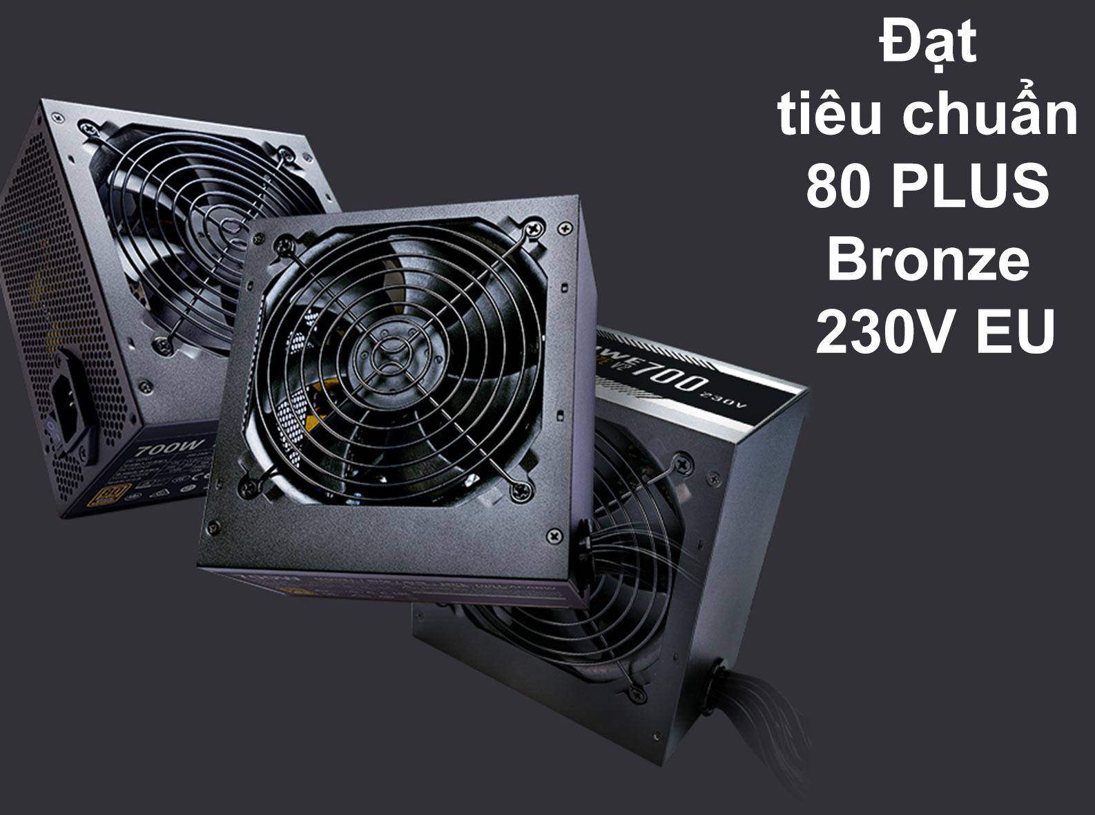bộ nguồn Power CM MWE Bronze 700W V2 230V | Đạt tiêu chuẩn 80 Plus