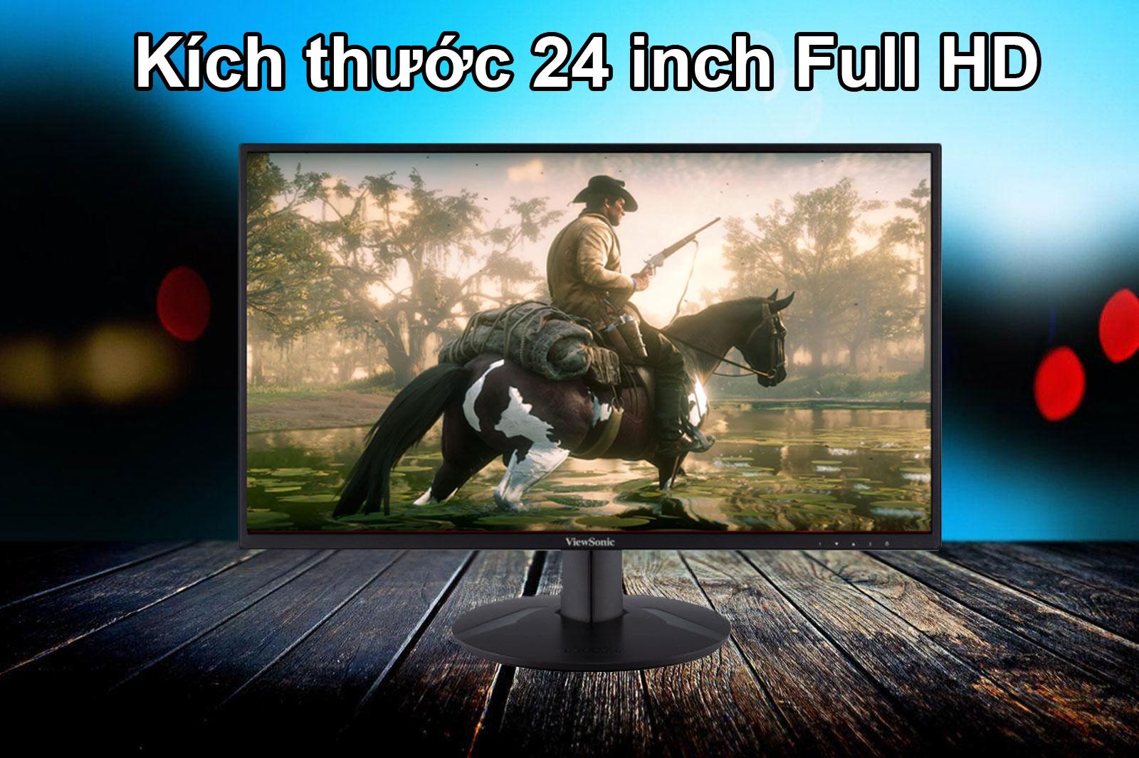 Màn hình LCD 24 inch ViewSonic VA2418-SH  24 inch Full HD