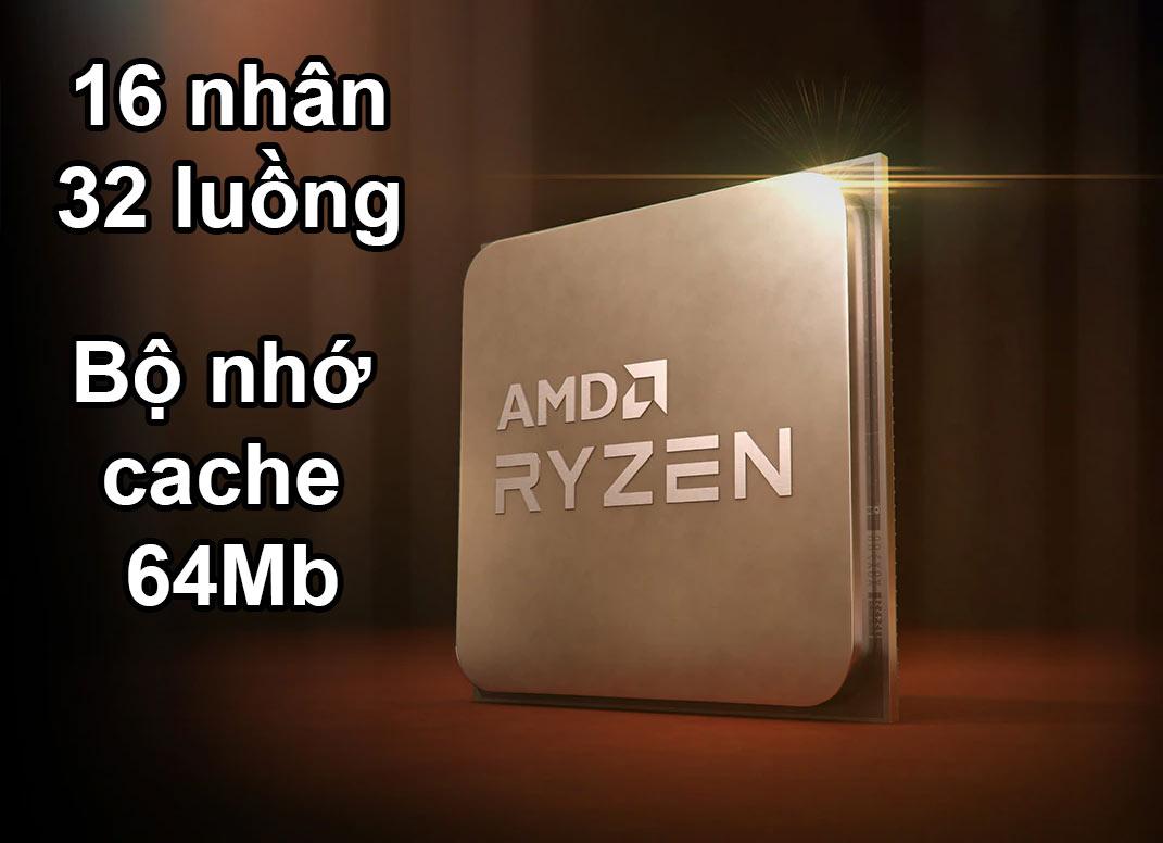 CPU AMD Ryzen 9 5950X | 16 nhân 32 luồng