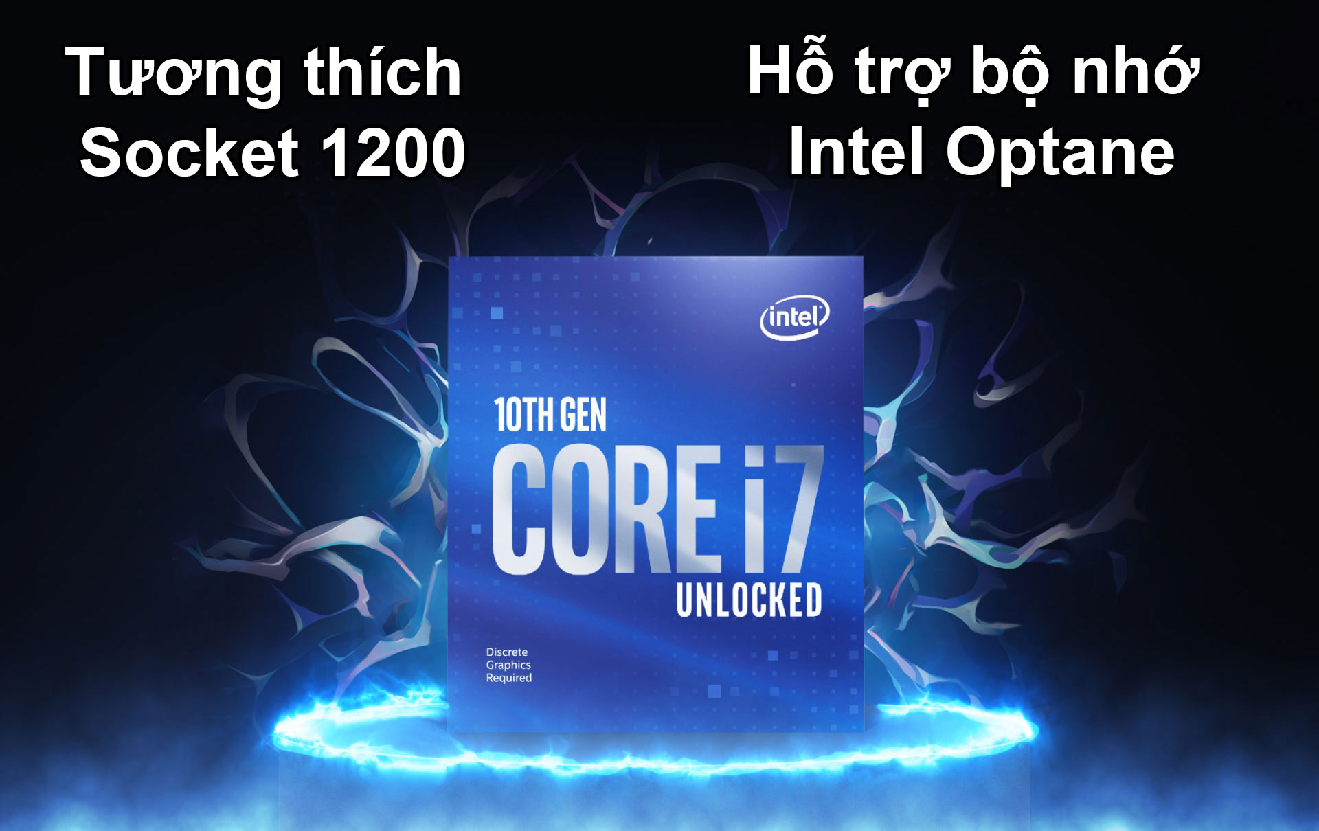 CPU Intel Comet Lake Core i7-10700  | Hỗ trợ Socket 1200