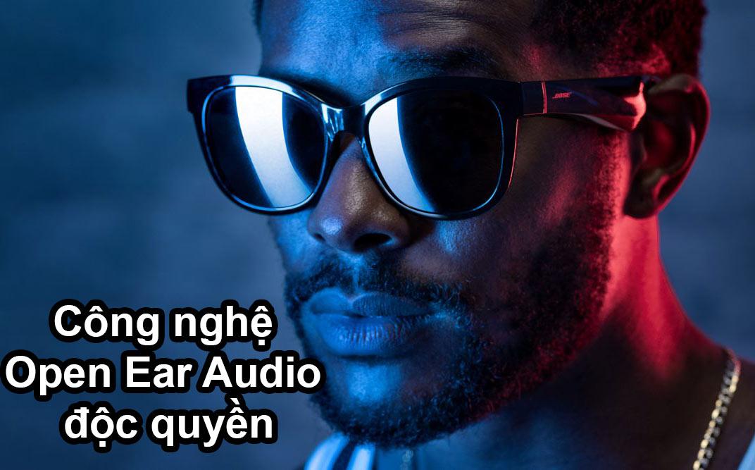 Kính mát nghe nhạc Bose Frames - Soprano   Công nghệ Open Ear Audio độc quyền