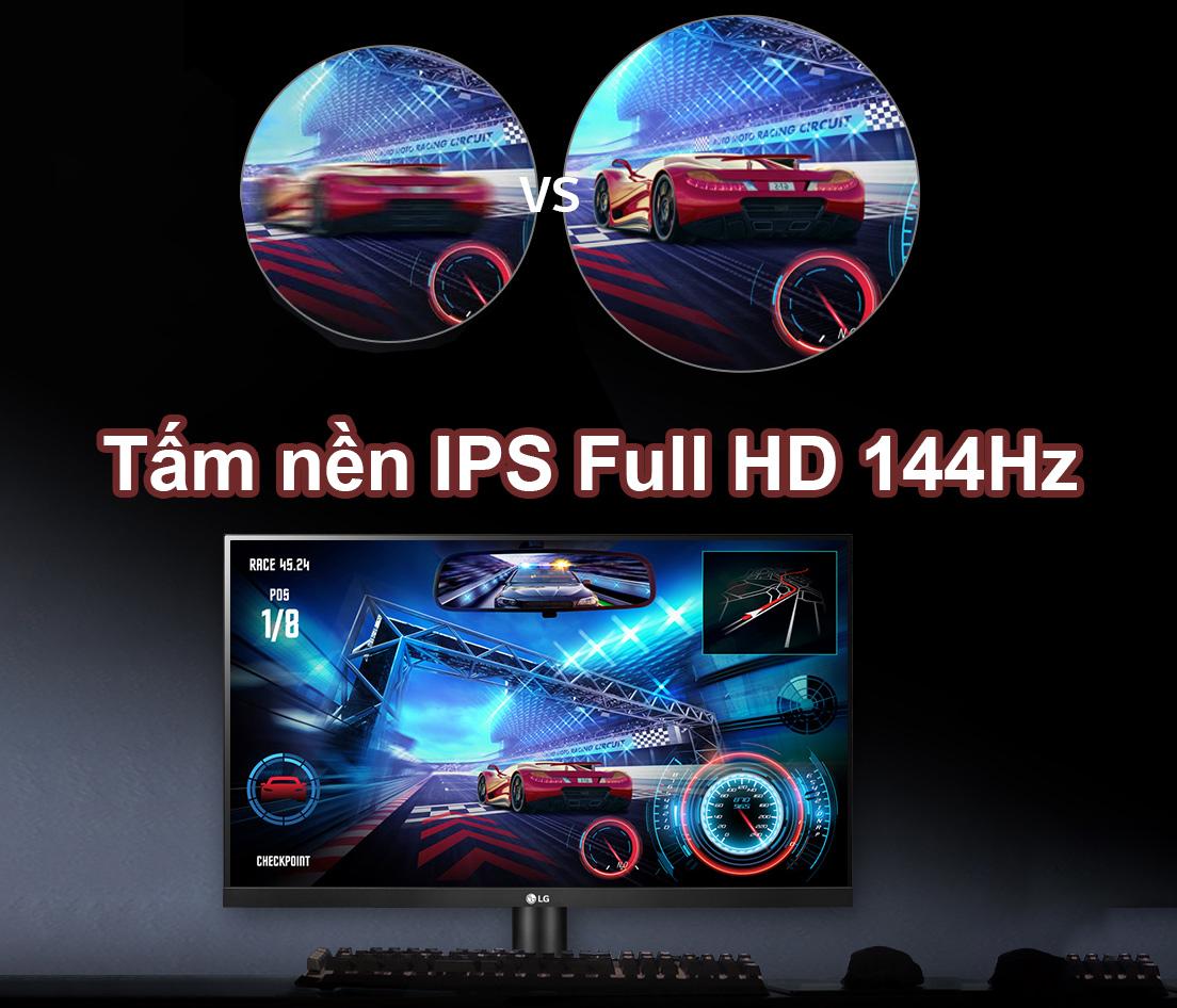 LG 27 inch 27GL650F-B.ATV | TẤM NỀN IPS FULL HD 144HZ 1ms