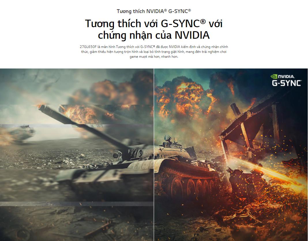 LG 27 inch 27GL650F-B.ATV | NVIDIA G-SYNC