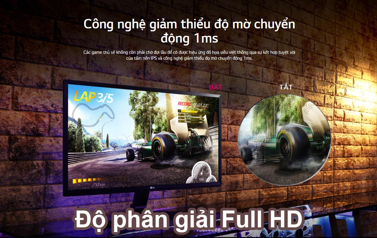 Màn Hình LG 27 inch 27MP59G-P | Full HD 1ms