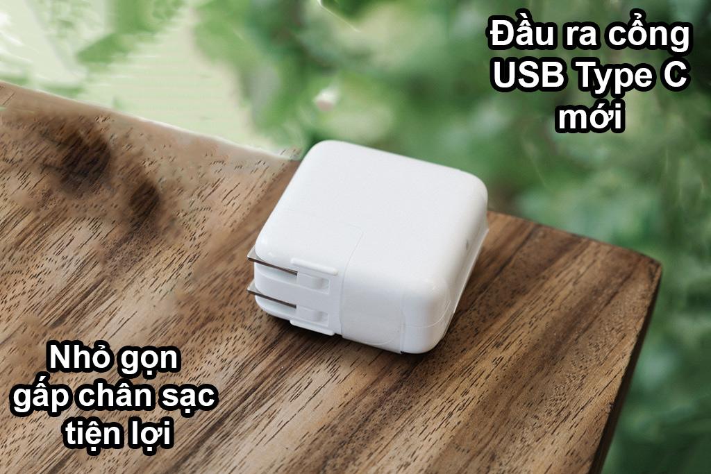 Sạc Apple 30W USB-C Power | Đầu ra USB Type C, nhỏ gọn tiện lợi