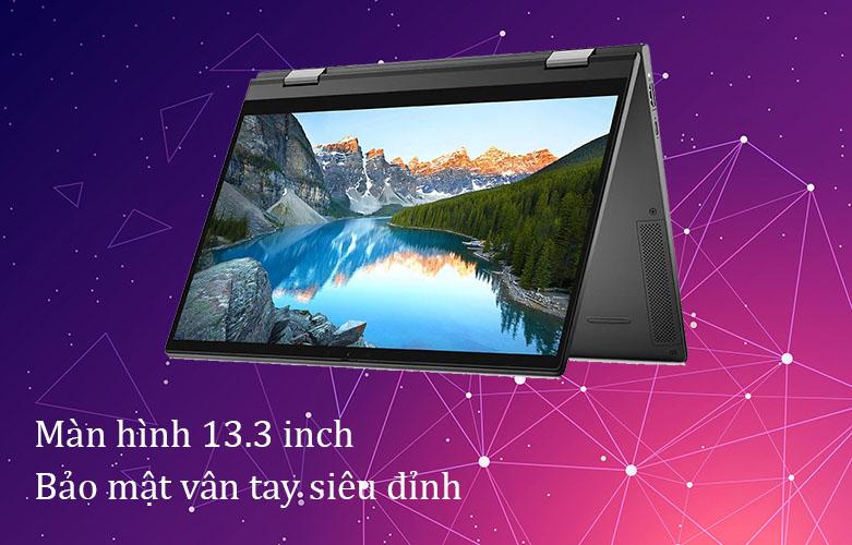Laptop Dell Inspiron 7306 (7306-N3I5202W)   Màn hình 13.3 inch, bảo mật vân tay siêu đỉnh