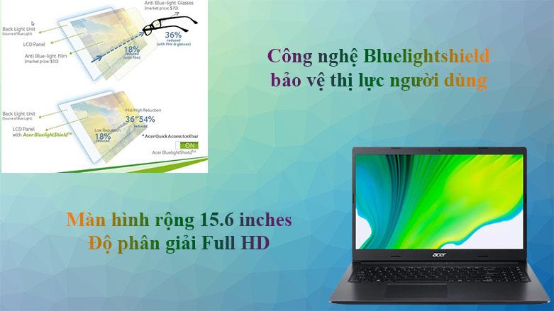 Laptop Acer Aspire 3 A315-57G-31YD | Màn hình 15.6 inches với công nghệ BluelightShield hiện đại