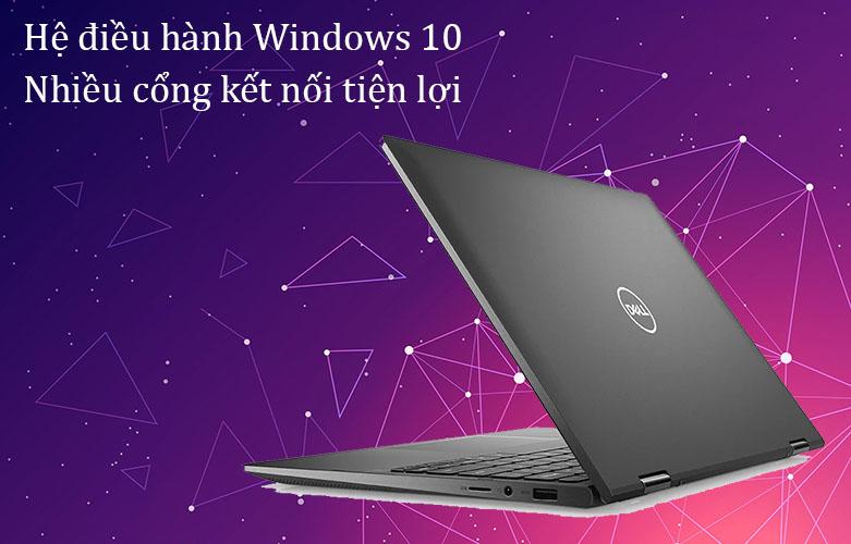 Laptop Dell Inspiron 7306 (7306-N3I5202W)   Hệ điều hành Windows 10, nhiều cổng kết nối tiện lợi