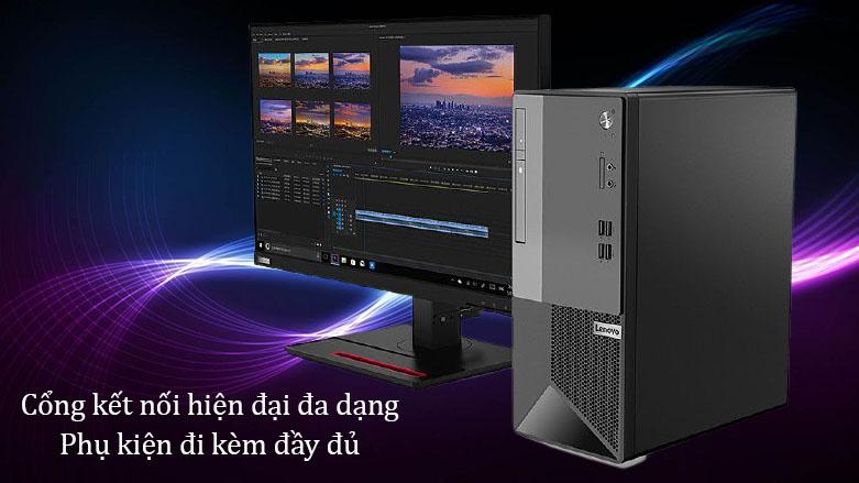 PC Lenovo V50t-13IMB | Cổng kết nối hiện đại đa dạng