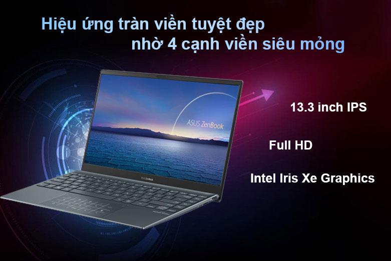 Laptop Asus Zenbook UX325EA-EG079T | Màn hình full HD, Intel Iris Xe Graphics