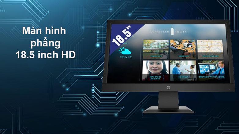 Màn hình LCD HP 18.5inch P19b G4_9TY83AA  Màn hình phẳng 18.5 inch HD