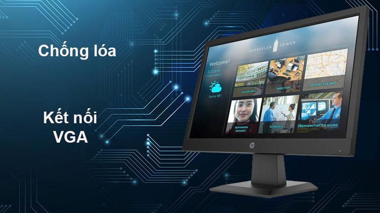 Màn hình LCD HP 18.5inch P19b G4_9TY83AA  Chống lóa, Kết nối VGA