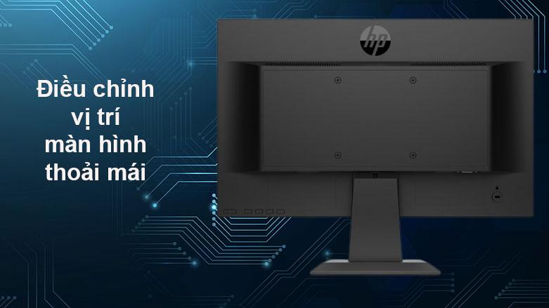 Màn hình LCD HP 18.5inch P19b G4_9TY83AA  Điều chỉnh vị trí màn hình