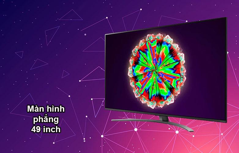 Smart Tivi NanoCell LG 4K 49 inch 49NANO81TNA | Màn hình phẳng 49 inch