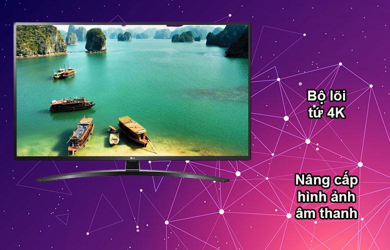 Smart Tivi NanoCell LG 4K 49 inch 49NANO81TNA | Bộ lõi 4K, Nâng cấp hình ảnh âm thanh