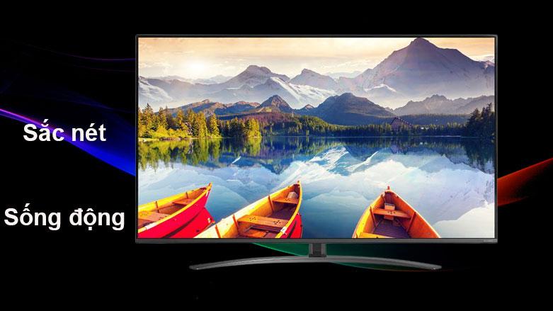 Smart Tivi NanoCell LG 4K 55 inch 55NANO81TNA | Hình ảnh sống động, sắc nét