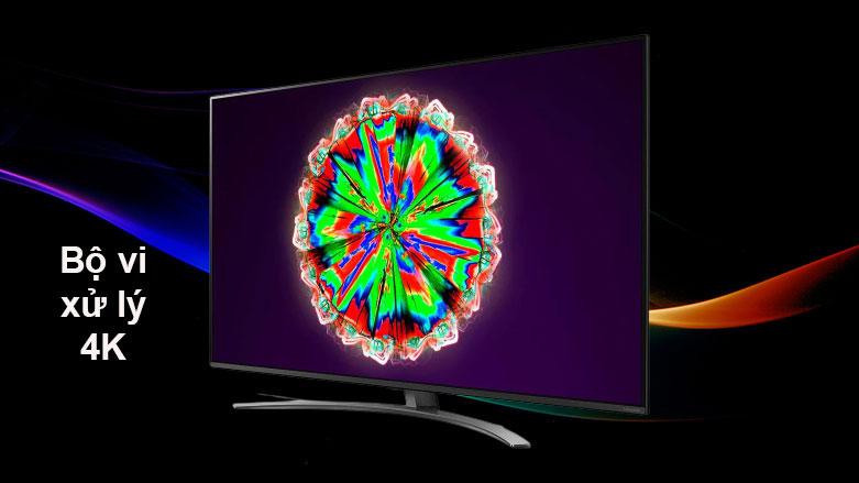 Smart Tivi NanoCell LG 4K 55 inch 55NANO81TNA | Bộ xử lý 4K