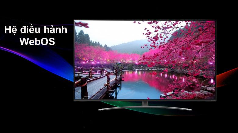 Smart Tivi NanoCell LG 4K 55 inch 55NANO81TNA | Hệ diều hành WebOS