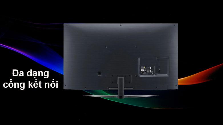Smart Tivi NanoCell LG 4K 55 inch 55NANO81TNA | Đa dạng cổng kết nối