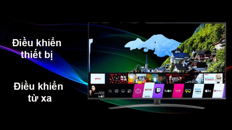 Smart Tivi NanoCell LG 4K 55 inch 55NANO81TNA | Điều khiển thiết bị từ xa