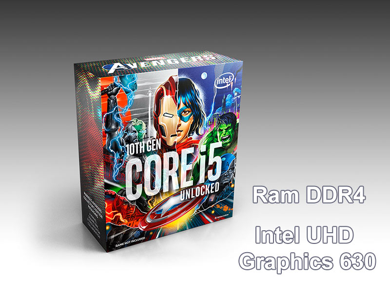 CPU Intel Comet Lake Core i5-10600KA Avenger Edition | intel UHD Graphics 630