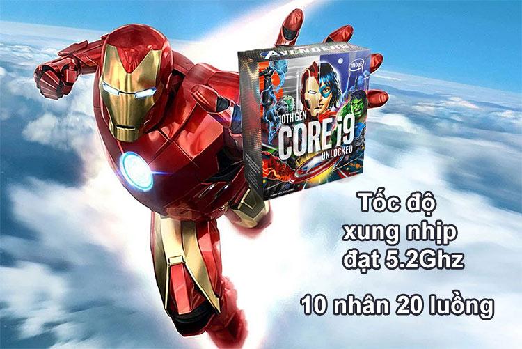 CPU Intel Comet Lake Core i9-10850KA Avengers Edition | Tốc độ 5.2Ghz | 10 nhân 20 luồng