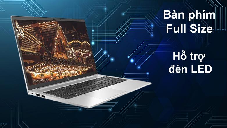 Laptop HP ProBook 450 G8-2H0W1PA | Bàn phìm Full size, hỗ trợ LED